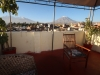 Our roof terrace with view of Misti