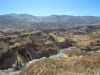 The Colca valley and Inca terraces