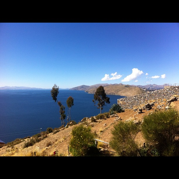 Isla del Sol, Lake Titicaca - a night on the island and we've lucked out on another room with a view