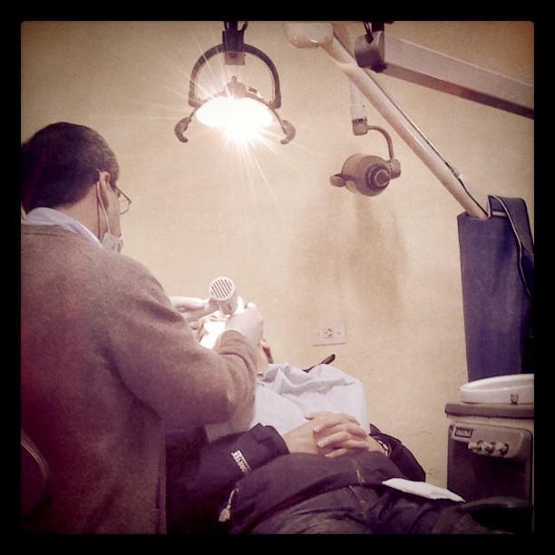 Samuel va al dentista