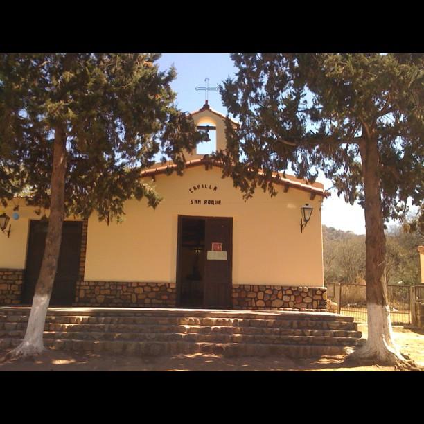 San Roque Iglesia, Talapampa, Argentina