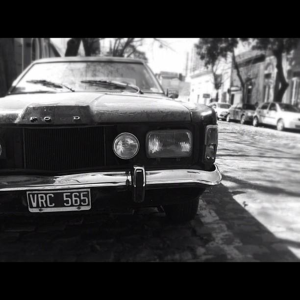 Retro ride in Palermo Soho, Buenos Aires