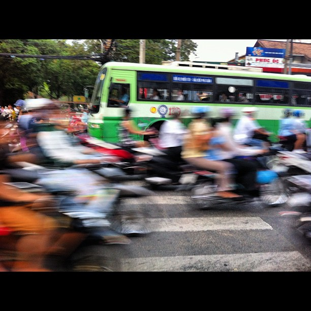 Saigon - the lollipop lady's nightmare